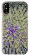 A Dandelion By A Different Color IPhone Case
