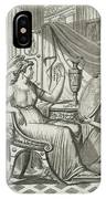 A Roman Lady Has Her Hair Done IPhone Case