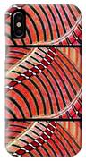 Abstract Fusion 204 IPhone Case