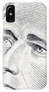 Alexander Hamilton's Ten Dollars Portrait IPhone Case