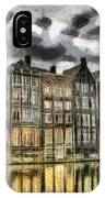 Amsterdam Water Canals IPhone Case