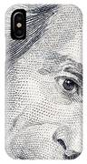 Andrew Jackson's Twenty Dollars Portrait IPhone Case
