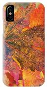 Autumn Audacity I IPhone Case