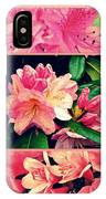 Azaleas 1950's Style IPhone Case