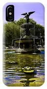 Bethesda Fountain - Central Park  IPhone Case