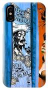 Bluesy Skateboard Art IPhone Case