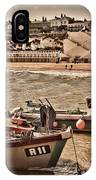 Boats At Broadstairs IPhone Case