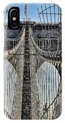 Brooklyn Bridge 3 IPhone Case