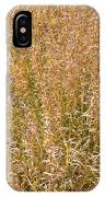 Brown Grass Texture IPhone Case