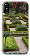 Cabbage Garden Chateau Villandry  IPhone Case