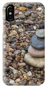 Cairn On Wet Pebbles IPhone Case