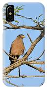 Crested Serpent Eagle IPhone Case