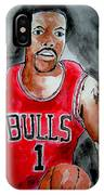 Derrick Rose IPhone X Case