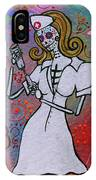 Dia De Los Muertos Nurse IPhone Case