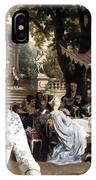 English Mastiff  - Mastiff Art Canvas Print - The Garden Party IPhone Case