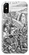 English Soldiers Under Edward  IIi IPhone Case