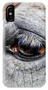 Eye Of A Horse IPhone Case