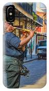 Feel It - Doreen's Jazz New Orleans 2 IPhone Case