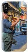 Feel It - Doreen's Jazz New Orleans 2 IPhone Case