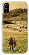 Feral Horses Of Ocracoke IPhone Case