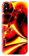 Flaming Red Flowers IPhone Case