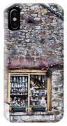 German Stone Cottage IPhone Case