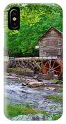 Glade Creek Gristmill IPhone Case