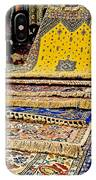 Gorgeous  Berber Rugs In Tangiers-morocco IPhone Case