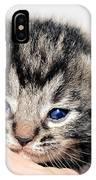 Kitten In A Hand IPhone Case