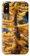 Larch Tree Closeup IPhone Case