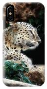 Leopard Watching It's Prey IPhone Case