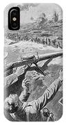 Lewis Gun In The British Trenches IPhone Case