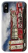 Liberty Electric IPhone Case