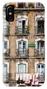 Lisbon - 18th Century Facade  IPhone Case