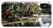 Magnolia Plantation Gardens IPhone Case
