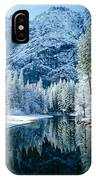 Merced River Reflection 2 IPhone Case