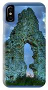 Midley Church Ruins At Dusk IPhone Case
