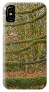 Moss-covered Big Leaf Maple Branches IPhone Case