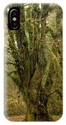 Moss-covered Big Leaf Maple Tree IPhone Case