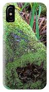 Mossy Dead Log IPhone Case