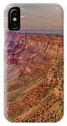 Navajo Viewpoint In Grand Canyon National Park IPhone Case