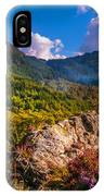 Overview Of The Loch Achray   IPhone Case