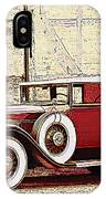 Packard Standard Eight Convertible IPhone Case