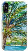 Palm Breezes IPhone Case