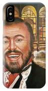 Pavarotti And The Ghost Of Lincoln Center IPhone Case