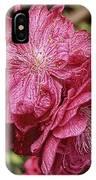 Pink Cluster Rhodie Img_2879 IPhone Case