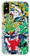 Roaring Enamel Tiger IPhone Case