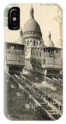 Sacre Coeur, Montmartre IPhone Case