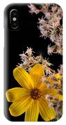 Shy Yellow Flower IPhone Case