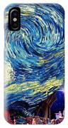 Starry Night In Bethlehem IPhone Case